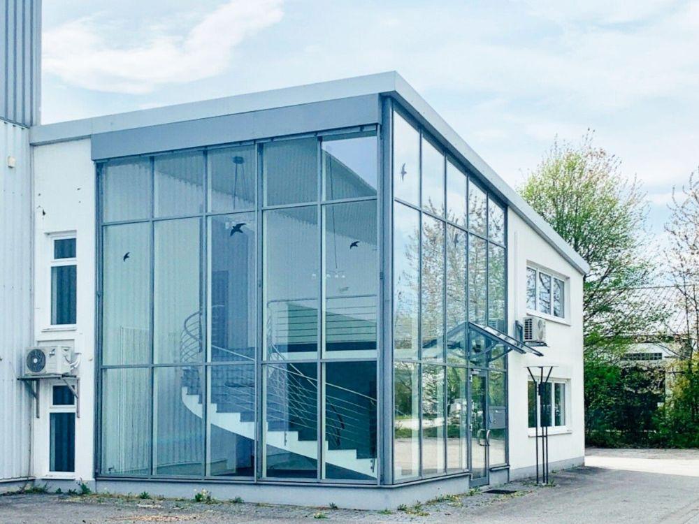 Das neue, moderne Bürogebäude der Brandschutz Claus GmbH. Im September wird es offiziell eröffnet. Foto: Brandschutz Claus GmbH